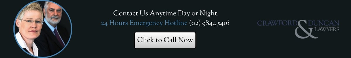 24 hour emergency legal advice hotline